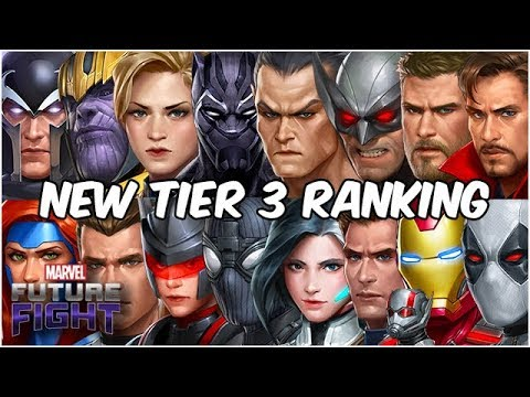 NAMOR WRECKS GALACTUS! ALL TIER 3 RANKED! GUIDE UPDATED - Marvel Future Fight