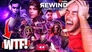 REACCIONANDO AL YOUTUBE REWIND HISPANO 2019 - TheGrefg