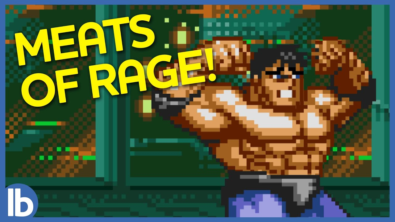 Eating Rotten Trash Chicken in Streets of Rage