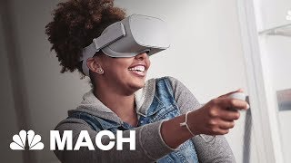 Facebook Just Announced Affordable Virtual Reality | Mach | NBC News
