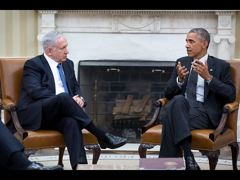 President Obama Meets With The Prime Minister Of Israel
