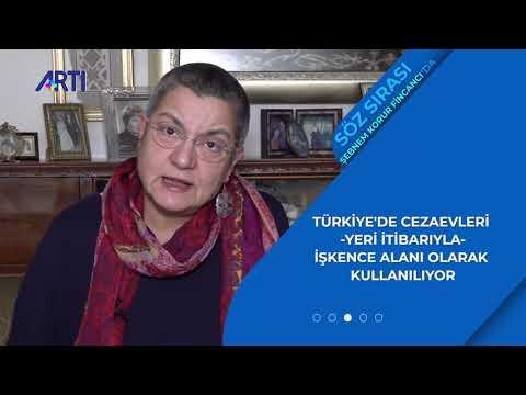 Söz Sırası Şebnem Korur Fincancı'da: Türkiye'de cezaevleri işkence alanı olarak kullanılıyor.