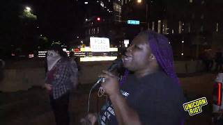 Minneapolis: Community open mic holds space at 1st Pct downtown as curfew starts