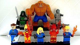 """Обзор минифигурок SY """"Fantastic Four/Фантастическая Четверка"""""""