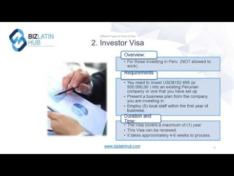 How to Apply for a Peruvian Visa - Biz Latin Hub