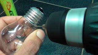 что будет если заправить лампочку газом?what will happen when you fill the bulb with gas?