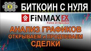 FinmaxFX - торгуем на форекс с проверенным брокером! Обзор терминала и открытие сделок.