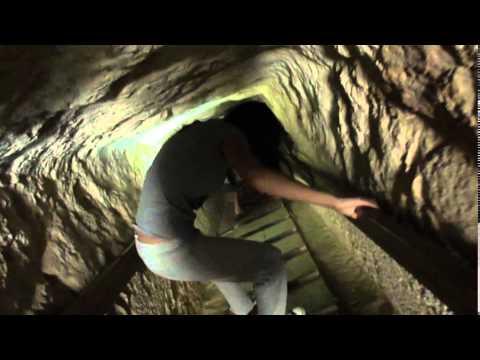 Внутри малой  пирамиды Гизы