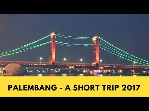 Palembang Travel Video 2017  with IPhone 8 plus - | Quick getaway from Singapore |