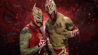 "Rey Mysterio And Sin Cara (Mistico) ""Masked Marvels"""