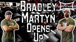 Bradley Martyn Opens Up About Dad's Death and Shows Us His New Gym (Zoo Culture)!