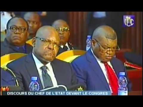 Intégralité discours du Président Joseph Kabila devant le congres 5 Avril2017