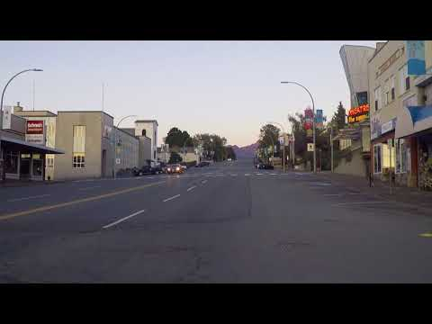 Port Alberni BC Canada - Tour of Harbour Quay Area - Vancouver Island 2017