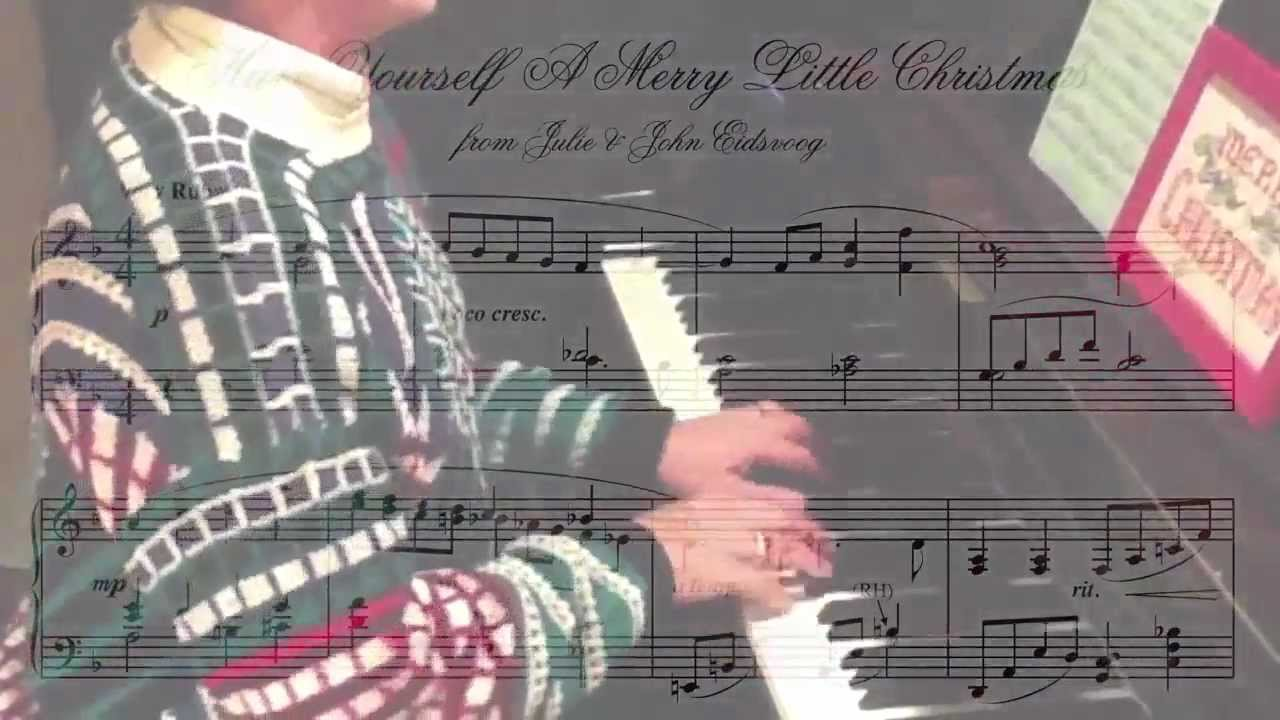 Merry Little Christmas 2011.Have Yourself A Merry Little Christmas Eidsvoog 2011 Christmas Card