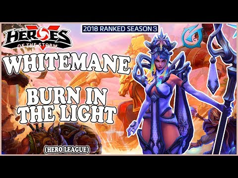 Grubby | Heroes of the Storm - Whitemane - Burn in the Light - HL 2018 S3 - Sky Temple