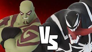 DISNEY INFINITY 3.0 VERSUS -DRAX VS VENOM   Marvel Battlegrounds