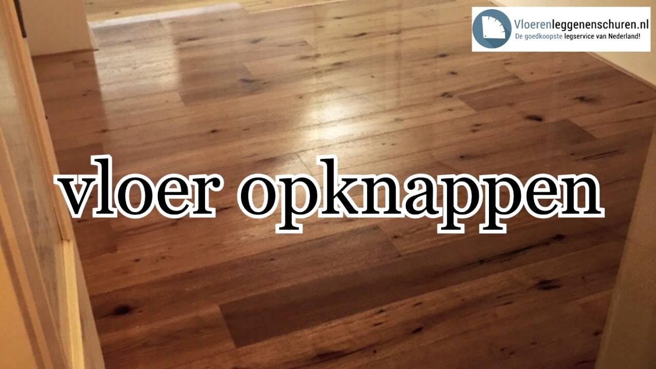 Goedkoop vloeren leggen en schuren youtube
