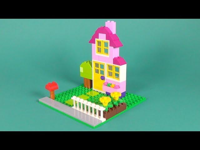 Lego House Building Instructions - Lego Classic 10698