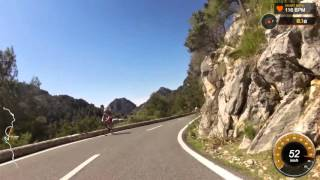 Mallorca 70.3 Petrol Station Descent