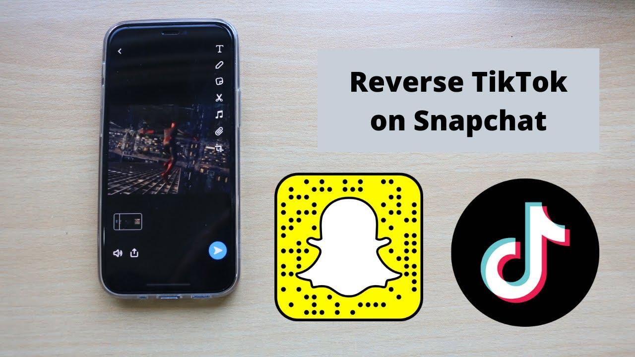 How To Reverse A Tiktok Video On Snapchat 2021 Youtube