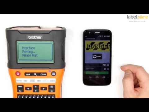 Brother PT-E550 Industrial Hand Held Label Printer - Unboxing and features