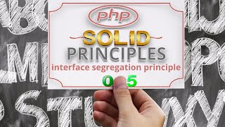 Part 05 SOLID Principles of OOP | Interface Segregation Principle with PHP Examples اردو / हिंदी