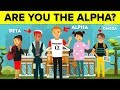 Are You The Alpha Male of Your Group?
