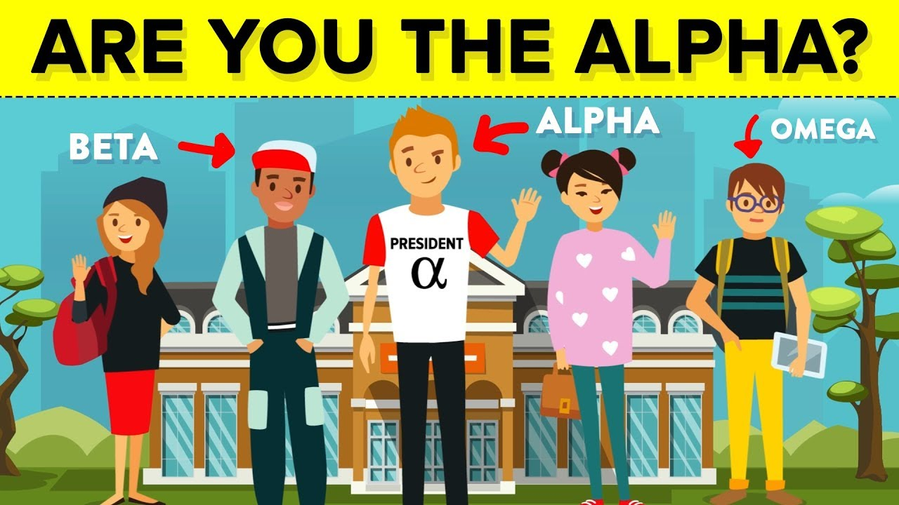 Male what alpha humans an is in Alpha male
