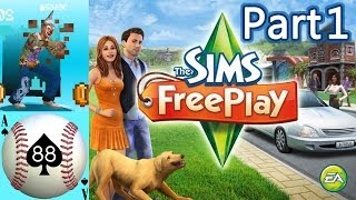 Lets Play Sims Free Play - Part 1 - Introduction [iOS/Android]