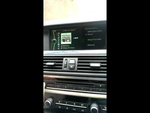 How to Set Up Deezer in BMW idrive. 5 series F10.