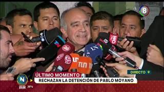 Rechazan la detención de Pablo Moyano