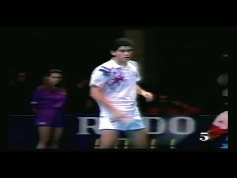 Pete Sampras vs Jim Courier  Final ATP Tour 1991 Part 1