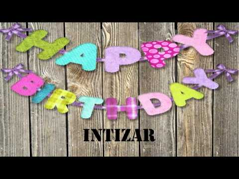 Intizar   wishes Mensajes