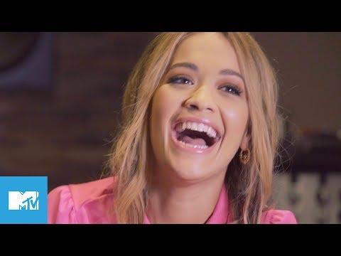 Rita Ora Talks Sliding Into Shawn Mendes DMs   MTV Asks Rita Ora