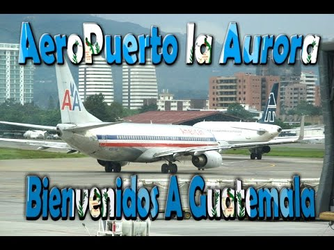 LLEGANDO A GUATEMALA (En el aeropuerto la Aurora)