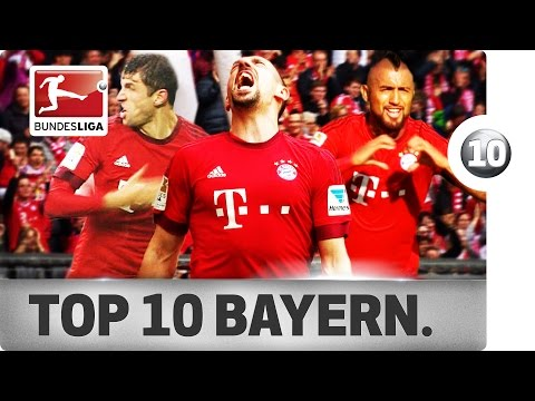 Top 10 Goals - FC Bayern München - 2015/16