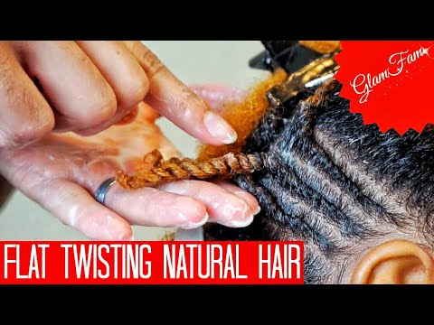 how-to-do-flat-twists-on-natural-hair