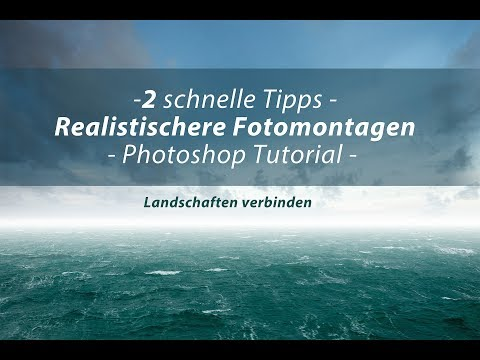 Realistischere Fotomontagen / Composings | 2 Tipps | Photoshop Tutorial thumbnail