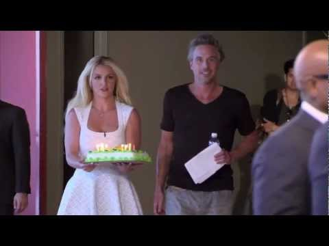 Britney Spears Sings 'Happy Birthday' to L.A. Reid - THE X FACTOR USA
