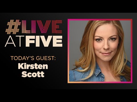 Broadway.com #LiveatFive With Kirsten Scott Of ROCK OF AGES