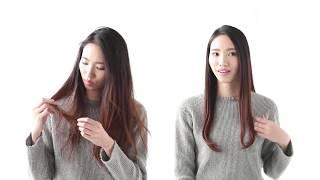 【SALONIA】DOUBLE ION STRAIGHT IRON【HOWTO】 thumbnail