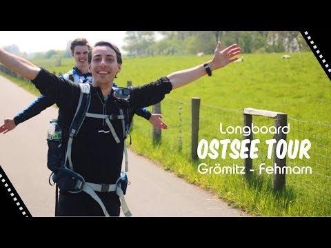 VLOG | 100km Longboard Ostsee Tour | Sonntag | Grömitz - Fehmarn