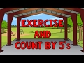 Count By 5 39 S Exercise And Count By 5 Count To 100 By 5 Counting Songs Jack Hartmann mp3