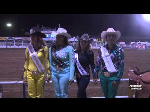 Miss Rodeo Wyoming 2015 at the 102nd Wyoming State Fair