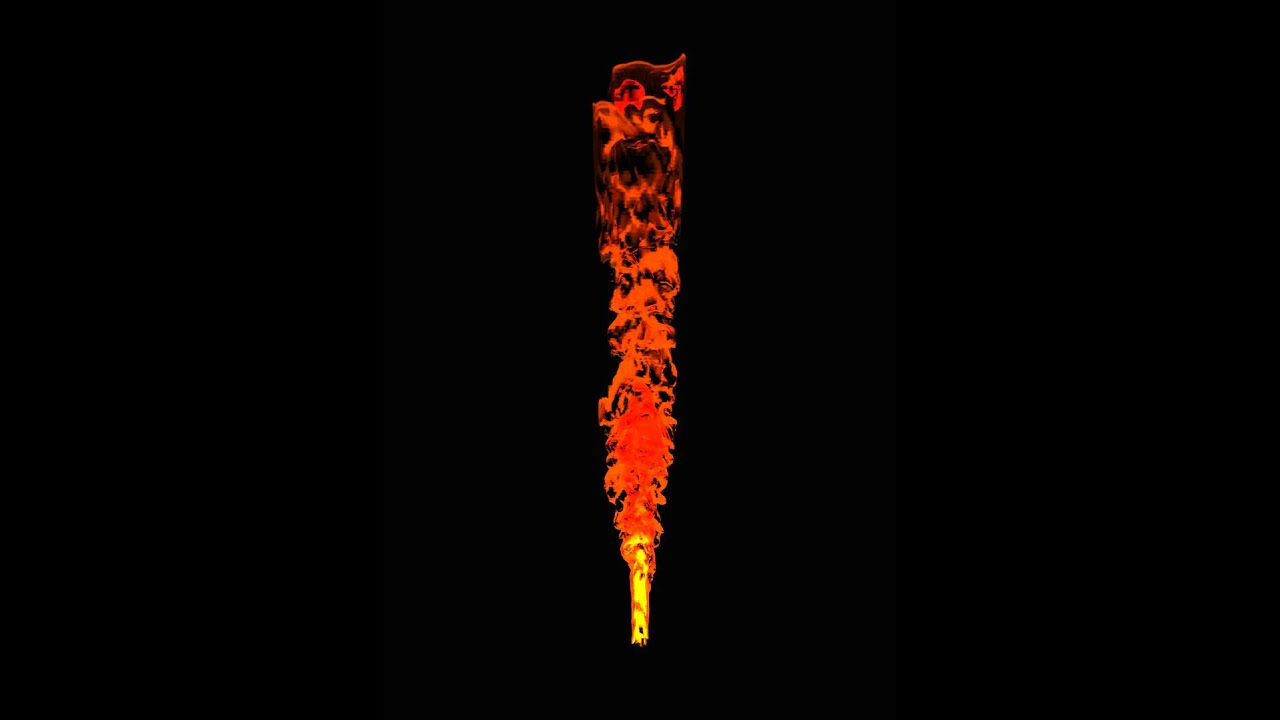 how to make flames in blender