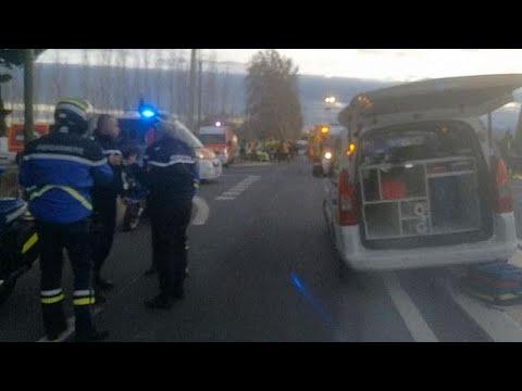Fransa'da tren kazası