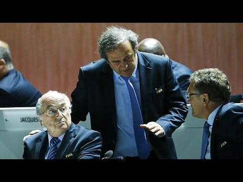 FIFA has suspended Sepp Blatter, Michel Platini and Jerome Valcke