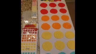 Giant Candy Buttons