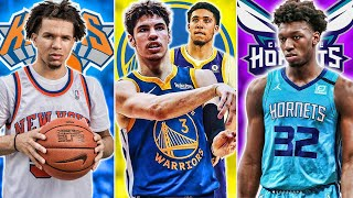 Lottery Simulator 2020 NBA Mock Draft | Lamelo Ball Lands In Surprising Destination?