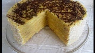 Receta: Torta Panqueque Naranja Paso a Paso - Silvana Cocina